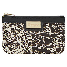 Buy Dune Koiny Single Leather Pouch, Black/ White Pony Online at johnlewis.com