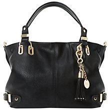 Buy Dune Deather Tassel Bag, Black Online at johnlewis.com