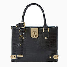 Buy Dune Derocky Shoulder Bag, Black Online at johnlewis.com