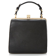Buy Dune Doblong Framed Bag, Black Online at johnlewis.com
