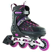 Buy SFR RX-XT Adjustable Inline Skates, Pink/Black Online at johnlewis.com