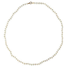 Buy Cobra & Bellamy Silver Pearl Necklace, White Online at johnlewis.com