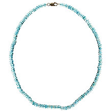 Buy Cobra & Bellamy Apatite Necklace Online at johnlewis.com