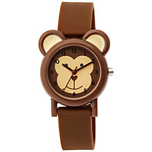Buy Tikkers TK0085 Children's Monkey Watch, Brown Online at johnlewis.com