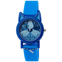 Buy Tikkers TK0089 Children's Dog Watch, Blue Online at johnlewis.com