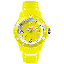 Buy Ice-Watch Unisex Sunshine Ice-Ramic Bracelet Strap Watch Online at johnlewis.com