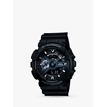 Buy Casio GA-110-1BER G-Shock Men's Watch, Black Online at johnlewis.com