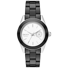 Buy DKNY Ny2143 Jitney Ceramic Bracelet Strap Watch Online at johnlewis.com