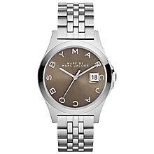 Buy Marc by Marc Jacobs MBM3348 Women's The Slim Watch, Silver Online at johnlewis.com