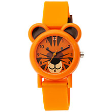Buy Tikkers TK0090 Children's Tiger Watch, Orange Online at johnlewis.com