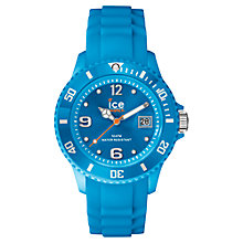 Buy Ice-Watch SI.NBE.U.S.14 Unisex Ice-Forever Trendy Neon Blue Watch, Blue Online at johnlewis.com