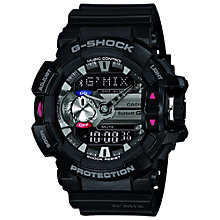 Buy Casio GBA-400-1AER G-Shock Men's Watch, Black Online at johnlewis.com