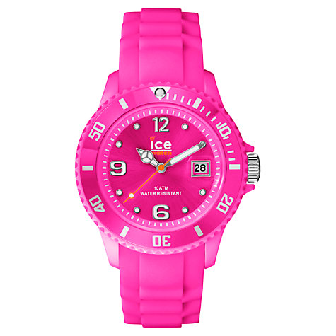 Buy Ice-Watch SI.NPK.SS14 Unisex Forever Trendy Ice-Ramic Watch, Pink Online at johnlewis.com