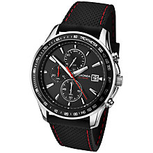 Buy Sekonda 1005.27 Men's Chronograph Watch, Black Online at johnlewis.com