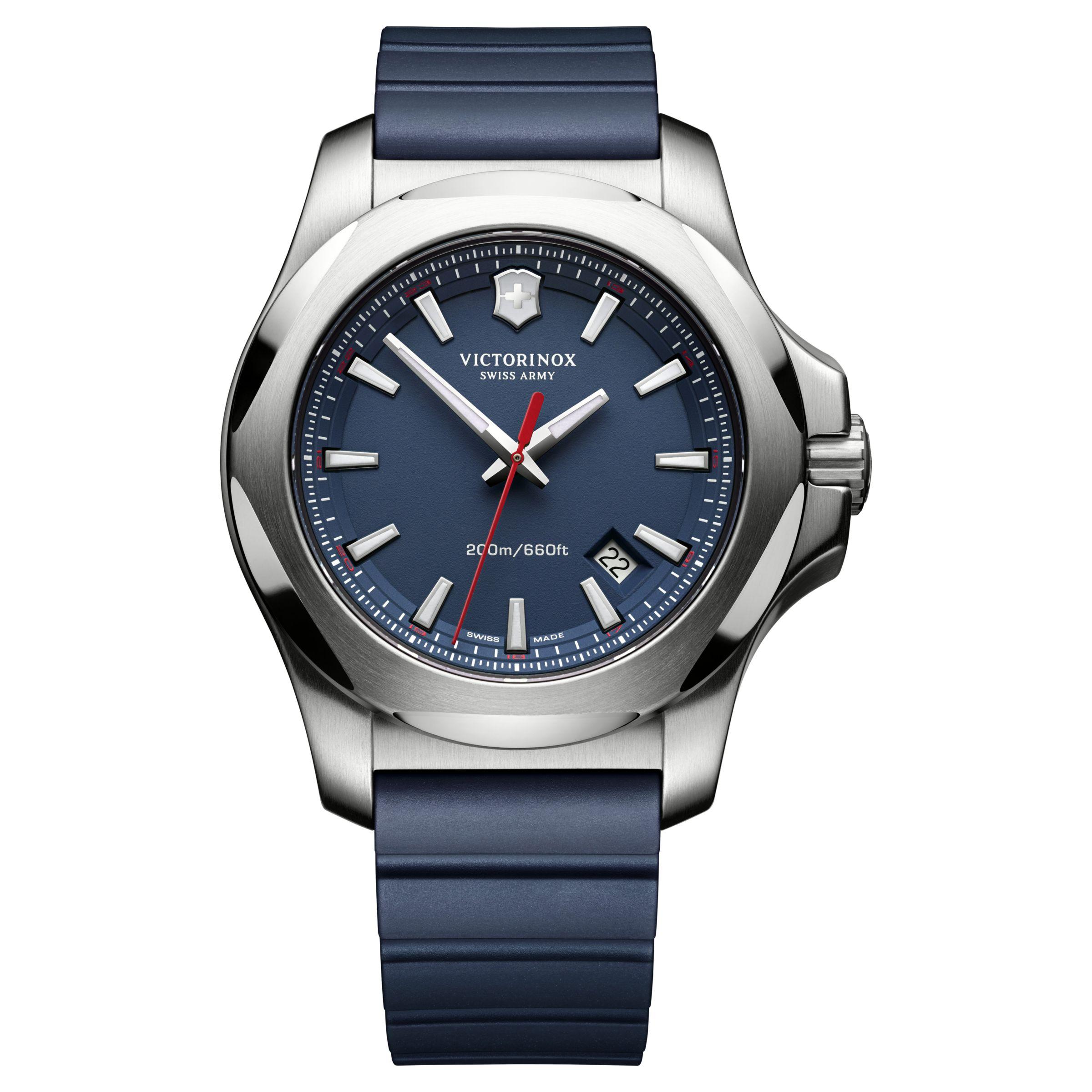 Victorinox Victorinox Men's I.N.O.X Rubber Strap Watch