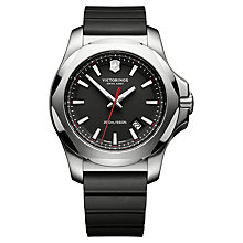 Buy Victorinox Men's I.N.O.X Rubber Strap Watch Online at johnlewis.com