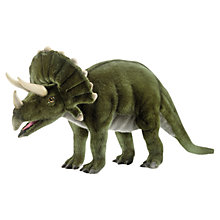 Buy Hansa Triceratops Soft Toy Online at johnlewis.com