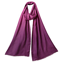 Buy East Maria Ombre Scarf, Magenta Online at johnlewis.com
