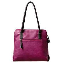 Buy East Multi Pocket Bag, Magenta Online at johnlewis.com