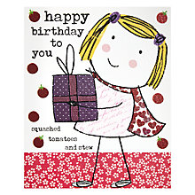 Buy Really Good Happy Birthday to You Greetings Card Online at johnlewis.com