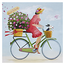 Buy Paper Rose Special Delivery Greeting Card Online at johnlewis.com