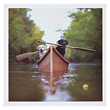 Buy Woodmansterne Gently Down Stream Greeting Card Online at johnlewis.com