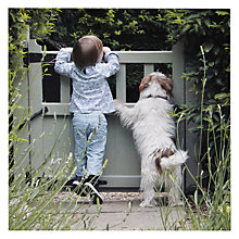 Buy Paperhouse RHS Chelsea Child and Dog Greeting Card Online at johnlewis.com