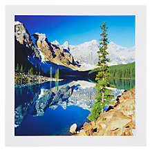 Buy PJF Photography Moraine Lake Greeting Card Online at johnlewis.com