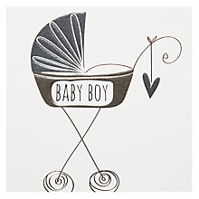Buy Belly Button Designs Baby Boy Greeting Card Online at johnlewis.com