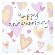 Buy Hotch Potch Happy Anniversary Greeting Card Online at johnlewis.com