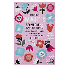 Buy Pigment Words to Describe Greeting Card Online at johnlewis.com