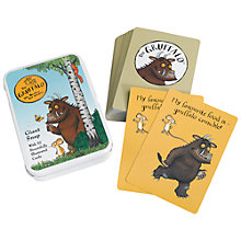 Buy Gruffalo Snap Cards Online at johnlewis.com