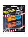 Npw E-racers Pull-Back Racing Erasers, Set of 2