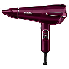 Buy BaByliss 5560KU Elegance Hair Dryer, Raspberry Online at johnlewis.com