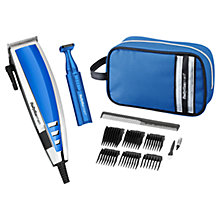 Buy BaByliss For Men Deluxe Hair Clipper Gift Set, Blue Online at johnlewis.com