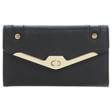 Buy Dune Kristen Metal Frame Purse, Black Online at johnlewis.com