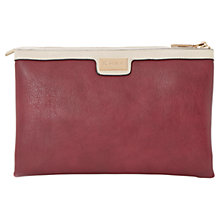 Buy Dune Daisies Triple Pouch Clutch Bag, Berry Online at johnlewis.com