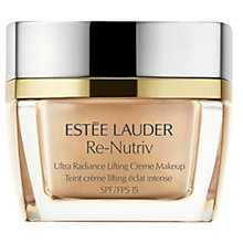 Buy Estée Lauder Re-Nutriv Ultra Radiance Lifting Creme Makeup SPF 15 Online at johnlewis.com