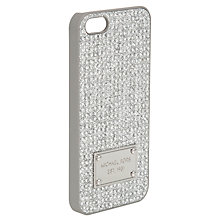 Buy MICHAEL Michael Kors Electronics Phone Cover, Crystal Online at johnlewis.com