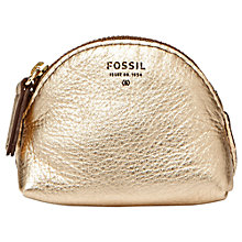Buy Fossil Sydney Leather Coin Purse Online at johnlewis.com