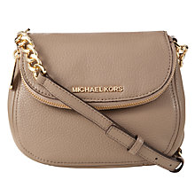 Buy MICHAEL Michael Kors Bedford Flap Leather Across Body Bag Online at johnlewis.com