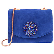 Buy Ted Baker Lilita Gem Brooch Across Body Clutch Bag Online at johnlewis.com