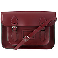 "Buy The Cambridge Satchel Company The Classic 13"" Leather Satchel Bag Online at johnlewis.com"