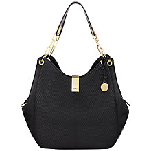 Buy Fiorelli Loretta Hobo Bag, Black Online at johnlewis.com