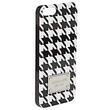 Buy MICHAEL Michael Kors Electronics Phone Cover, Houndstooth Online at johnlewis.com