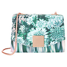 Buy Ted Baker Gwenn Botanical Bloom Clutch Bag, Teal Online at johnlewis.com