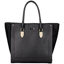 Buy Fiorelli Riva Large Shopper Bag, Black Online at johnlewis.com