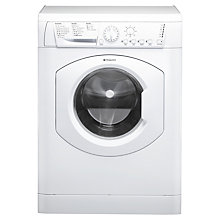 Buy Hotpoint HTB721P Slim Depth Washing Machine, 7kg Load, A+ Energy Rating, 1200rpm Spin, White Online at johnlewis.com