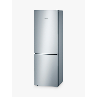 Image of Bosch KGV36VL32G Fridge Freezer, A++ Energy Rating, 60cm Wide, Stainless Steel Look
