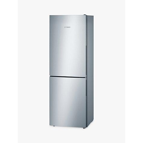 buy bosch kgv33vl31g fridge freezer a energy rating 60cm wide stainless steel look john lewis. Black Bedroom Furniture Sets. Home Design Ideas